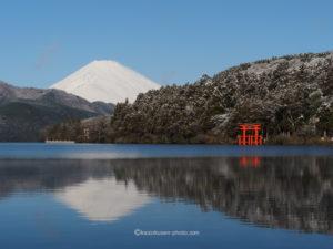 2020-01-19 絶景の富士 冬の芦ノ湖 撮影日誌