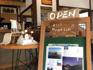 「NARAYA CAFE」写真展 搬入・搬出の確認